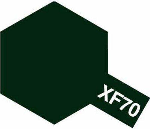Tamiya Farba Acrylic Mini XF-70 Dark Green