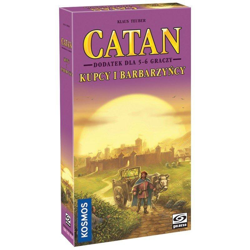 Gra Catan - Kupcy i Barbarzyńcy dodatek dla 5-6 graczy
