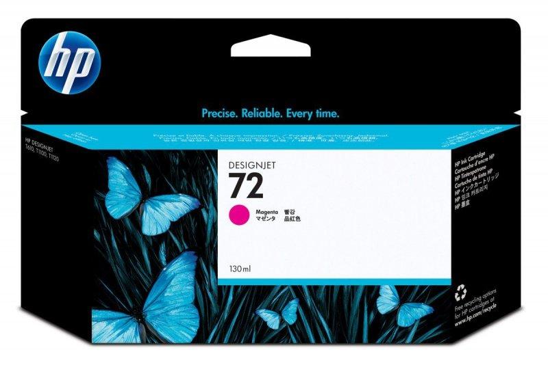 Tusz Nr 72 Purpurowy (Magenta) Fotograficzny 130ml C9372A