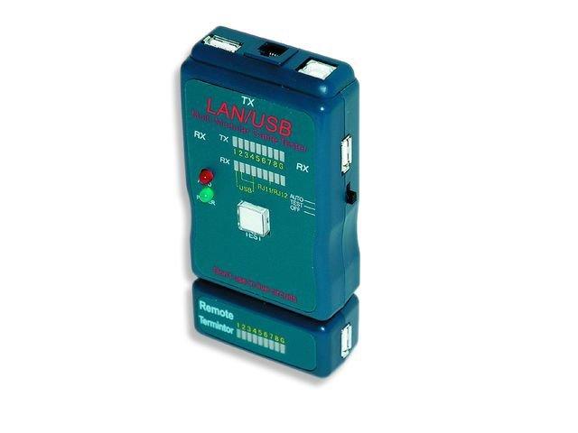 Tester diodowy kabli RJ4 5,RJ11,UTP,STP,USB AA/AB