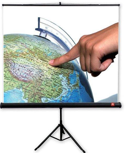 Ekran na statywie Tripod Standard 150, 1:1, 150x150cm, powierzchnia biała, matowa