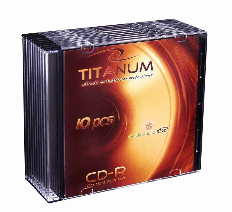 CD-R 700MB x56 - Slim 10