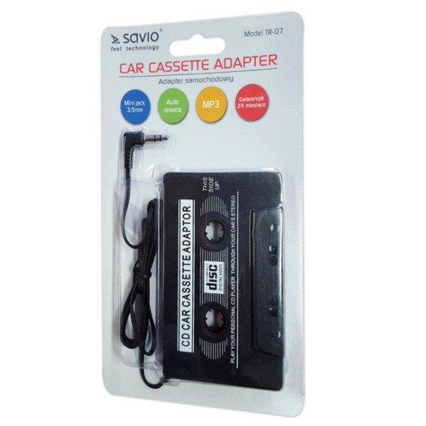 Kaseta - Adapter samochodowy FM SAVIO TR-07, blister