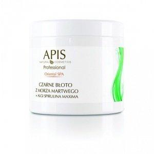 APIS Oriental SPA czarne błoto do ciała +algi Spirulina Maxima 500g