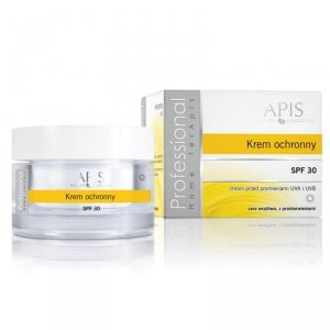 APIS Krem ochronny, cera wrażliwa z przebarwieniami SPF 30 50ml