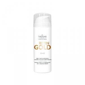 FARMONA RETIN GOLD Krem wygładzająco-rozświetlający anti- ageing 150 ml