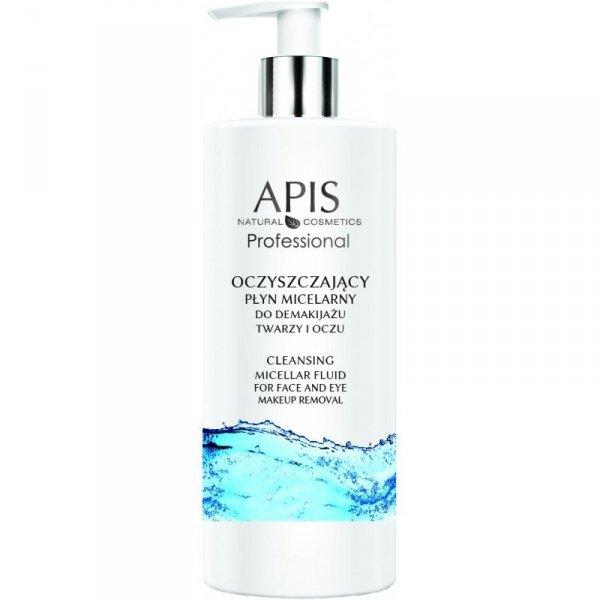 APIS Oczyszczający płyn micelarny do demakijażu twarzy i oczu 500ml
