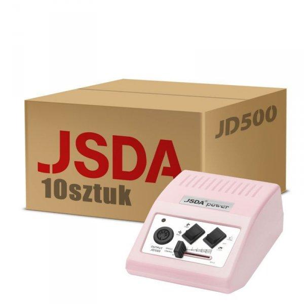 Activeshop JSDA FREZARKA JD500 PINK 10 SZT.