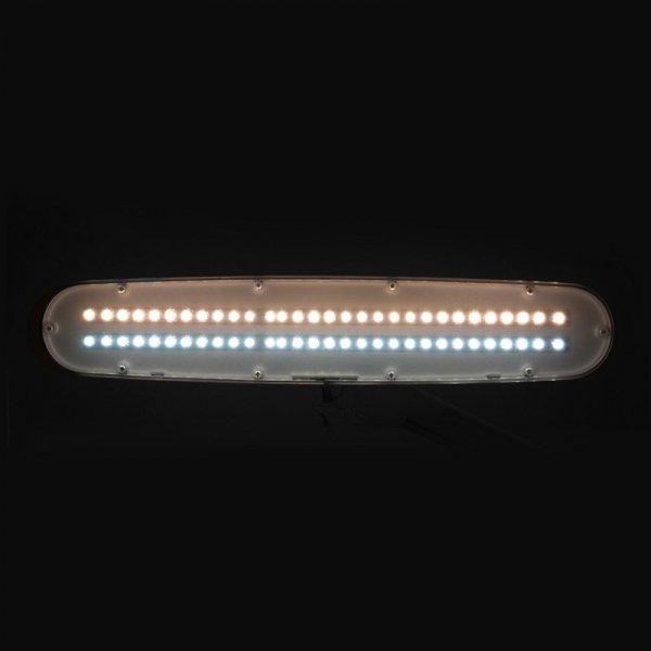 LAMPA WARSZTATOWA LED ELEGANTE 801-TL ZE STATYWEM REG. NATĘŻENIE I BARWA ŚWIATŁA WHITE