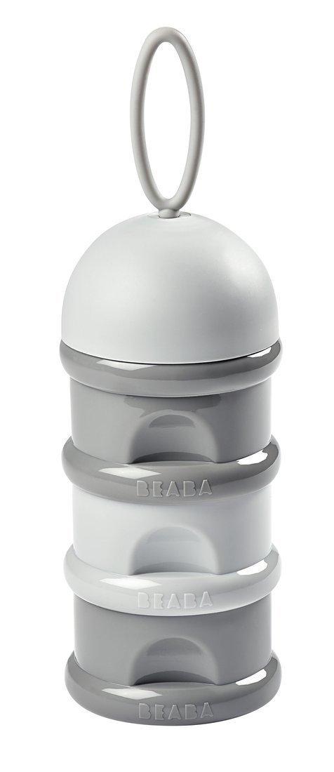 BEABA Pojemniki na mleko w proszku airy green + windy blue + light mist