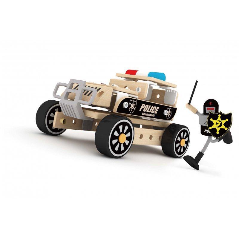 Kreatywny Zestaw Policja 3w1 Classic World