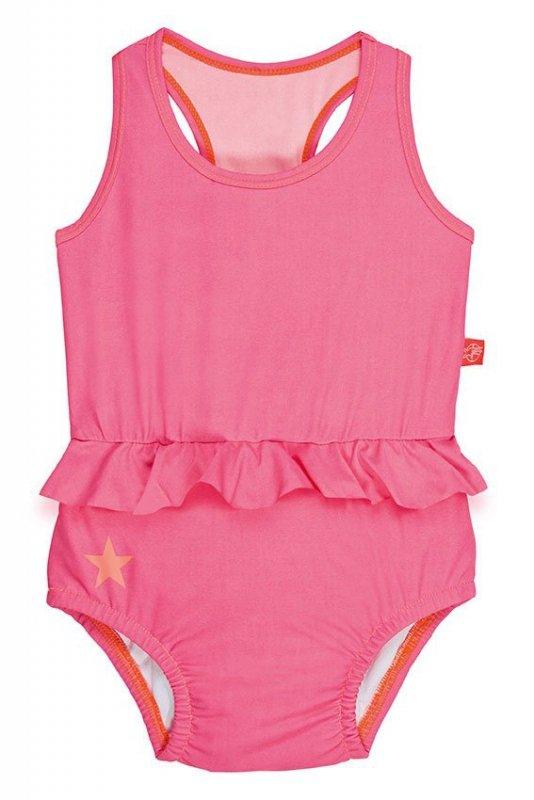 Lassig, Kostium do pływania jednocześciowy z pieluszką Light pink 18mcy