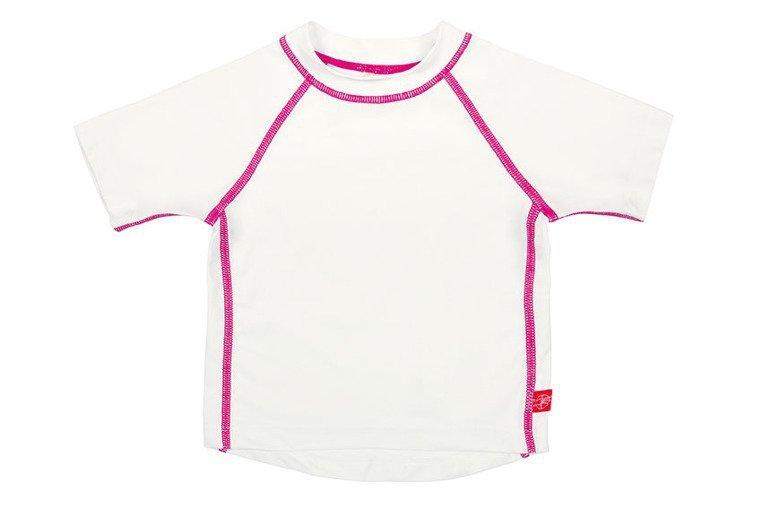 koszulka biała z różem www.tuliki.pl