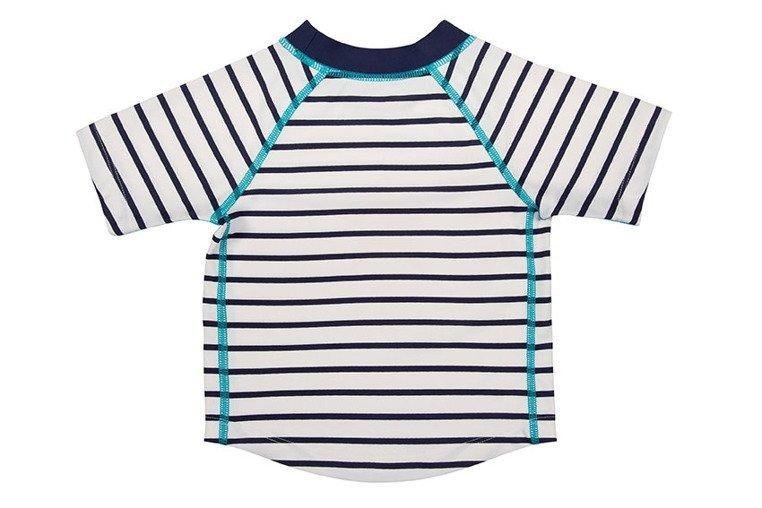 Lassig, Koszulka T-shirt do pływania Sailor, UV 50+, 6-12 miesięcy