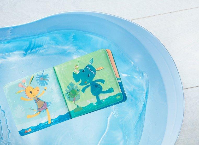LILLIPUTIENS Magiczna książeczka do kąpieli Krokodyl Anatol 12 m+
