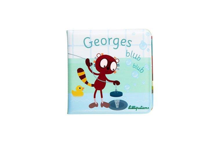 LILLIPUTIENS Książeczka do kąpieli Lemur George 18 m+