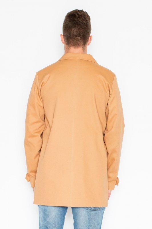 Płaszcz V028 Beż L