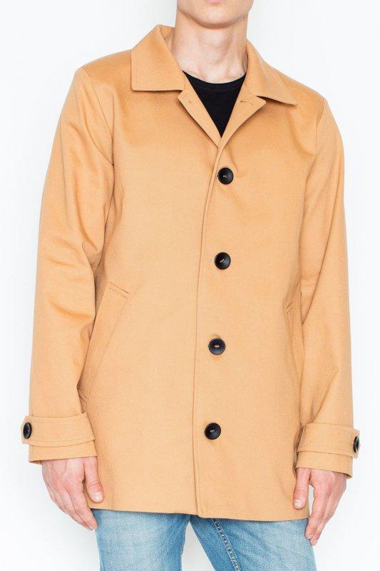 Płaszcz V028 Beż S