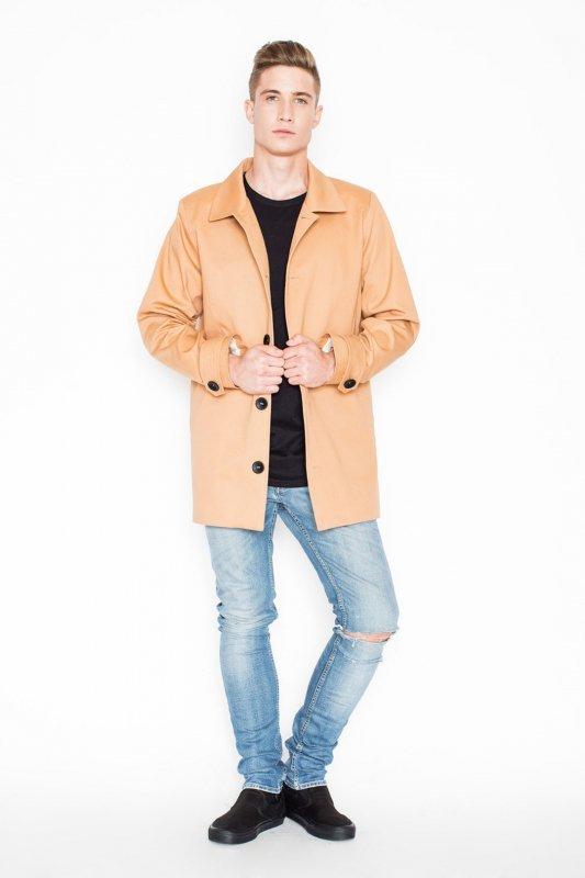Płaszcz V028 Beż XL