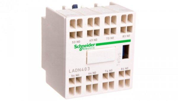 Styk pomocniczy 4Z montaż czołowy LADN403