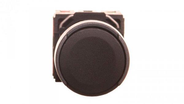 Przycisk 1-biegunowy mechanizm z plakietką czarny IP65 przycisk 1x XB6AA25B