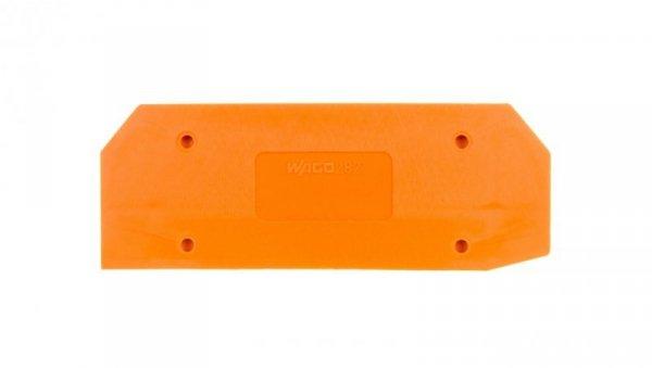Ścianka końcowa pomarańczowa 282-315 /25szt./
