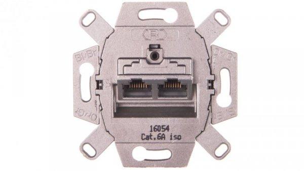 Merten Gniazdo komputerowe podwójne RJ45 kat.6 8/8 MTN465706