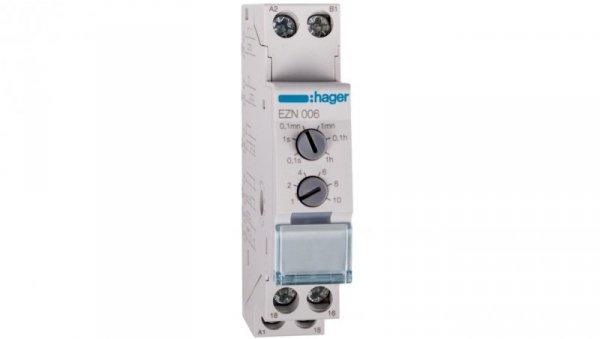 Przekaźnik czasowy wielofunkcyjny 12-230V AC, 12-48V DC, 1P 8A 250V AC1 EZN006