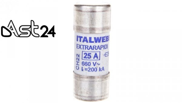 Wkładka bezpiecznikowa cylindryczna 10x38mm 16A gR 690V AQS10 UQ 002645133