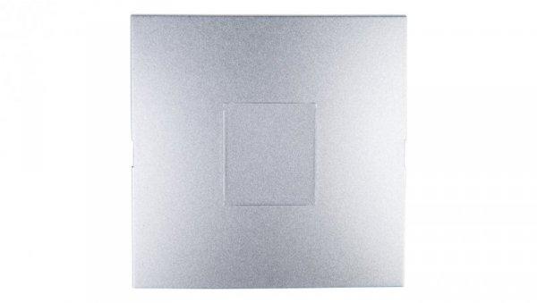 Simon 54 Zaślepka ramki srebrny mat DP/43