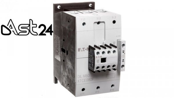 Stycznik mocy 80A 3P 24V DC 2Z 2R DILM80-22(RDC24) 239463