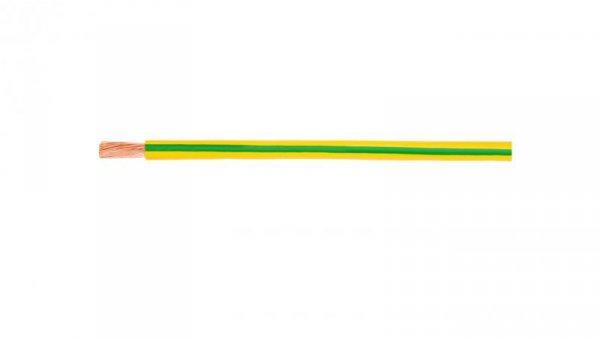 Przewód instalacyjny H07V-K (LgY) 6 żółto-zielony /100m/