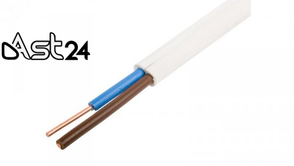 Przewód YDYp 2x6 450/750V /100m/