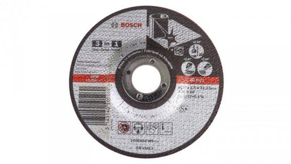 Tarcza tnąca do metalu 3W1 A 46 S BF 125x2,5x23mm 2608602389