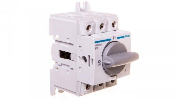 Rozłącznik izolacyjny 3P 80A HAC308