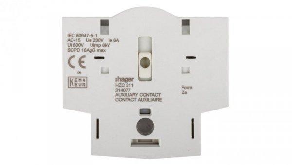 Styk pomocniczy 1Z 1R montaż boczny HZC311