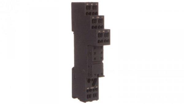 Gniazdo przekaźnika RM 10A 300V AC czarne GZMB80 2614582