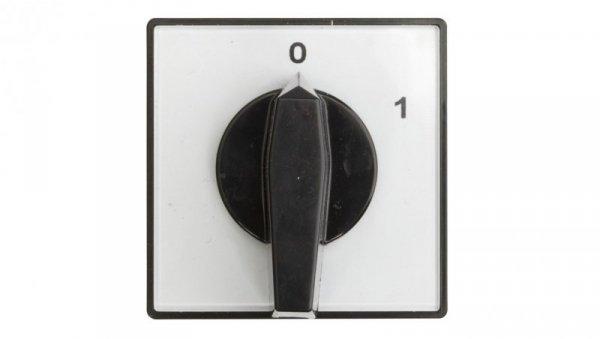Łącznik krzywkowy 0-1 2P 16A do wbudowania 4G16-91-U 63-840393-021
