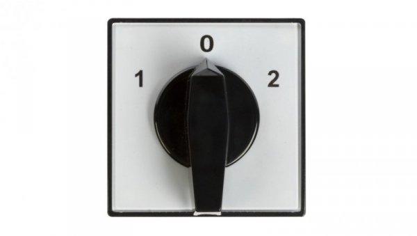 Łącznik krzywkowy 1-0-2 3P 40A do wbudowania 4G40-53-U 63-840343-041