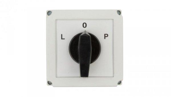 Łącznik krzywkowy L-0-P 3P 40A w obudowie 4G40-11-PK 63-840309-041