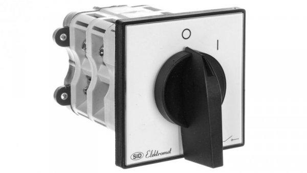 Łącznik krzywkowy 0-1 3P 100A IP65 ŁK 100-12 z płytką 910700