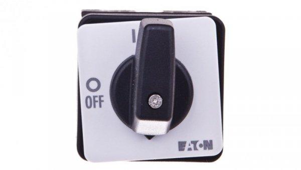 Łącznik krzywkowy 0-1 2P 20A do wbudowania T0-1-102/E 088709