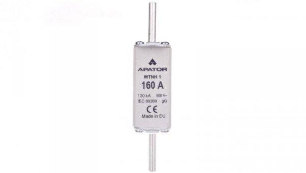 Wkładka bezpiecznikowa NH1C 160A gG 500V WT-1C 1115282140T