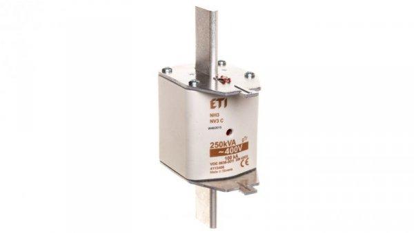 Wkładka bezpiecznikowa NH3 361A gTr 250kVA 400V WT-3 004115406