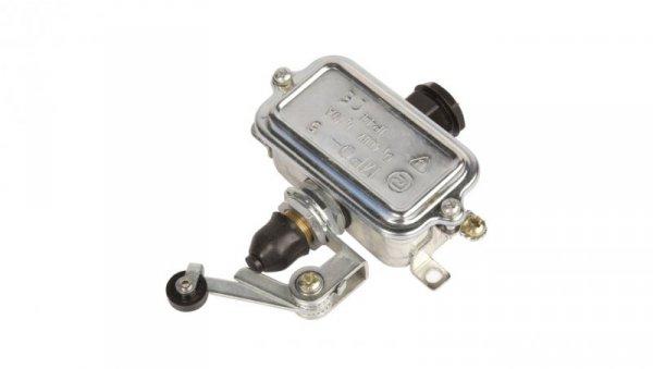 Wyłącznik krańcowy 1R 1Z  w obudowie, dźwignia z rolką MP0-5 W0-59-152022
