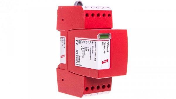 Ogranicznik przepięć D Typ 3 4P 8kA 1,5kV DEHNrail M 4P 255 953400