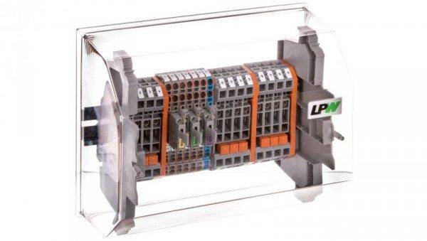 Listwa pomiarowa LPW 19-torowa 230V AC szeregowa 847-676/230-1001