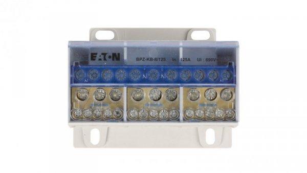 Blok listew rozdzielczych 4-biegunowy 125A BPZ-KB-8/125 289968