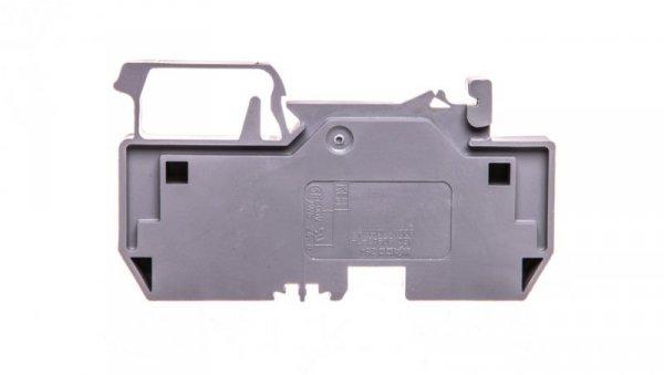 Złączka szynowa 2-przewodowa 10mm2 szara 284-901