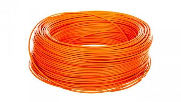 Przewód instalacyjny H05V-K 0,75 pomarańczowy 29110 /100m/